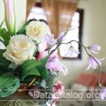 ขายดอกไม้ประดิษฐ์จากผ้าใยบัวเป็นอาชีพเสริมของครู