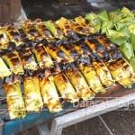 ทำข้าวเหนียวปิ้งไส้กล้วยและไส้เผือกขายอาชีพเสริมที่น่าสนใจ