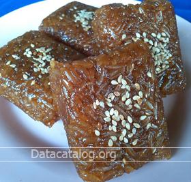 ข้าวเหนียวแดง ขนมหวานไทยโบราณ