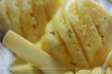 สับปะรดผลไม้พร้อมทานสูตรสับปะรดเชื่อม